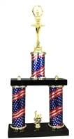 2 Column Flag PLUS Ballet Trophy