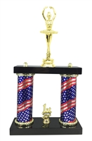 2 Column Flag Column Ballet Trophy