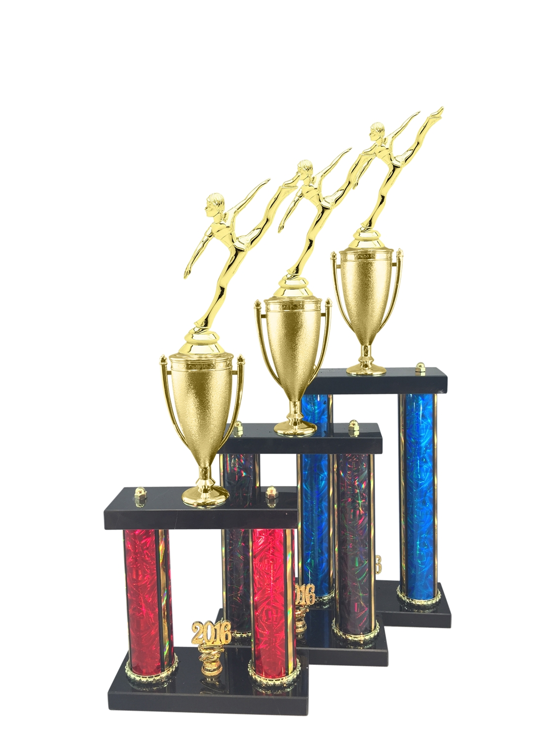 Dance Trophy Available in 11 Color & 3 Size Options