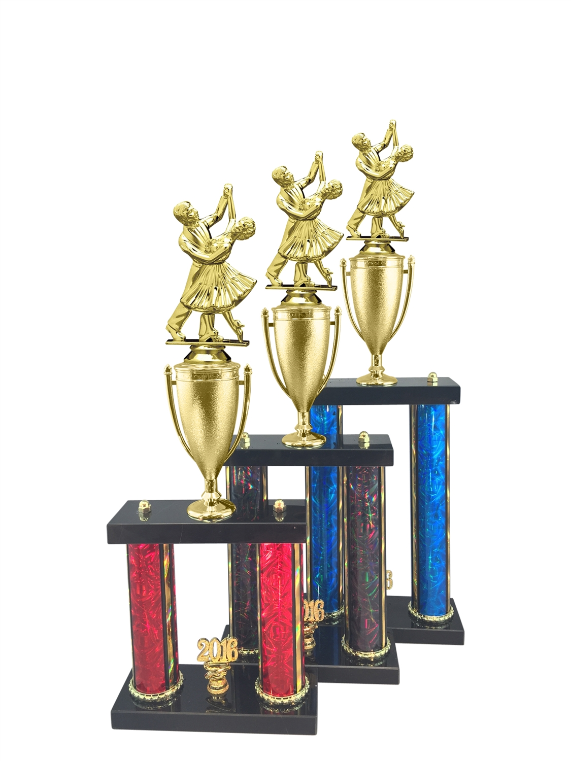 Dancing Couple Trophy Available in 11 Color & 3 Size Options