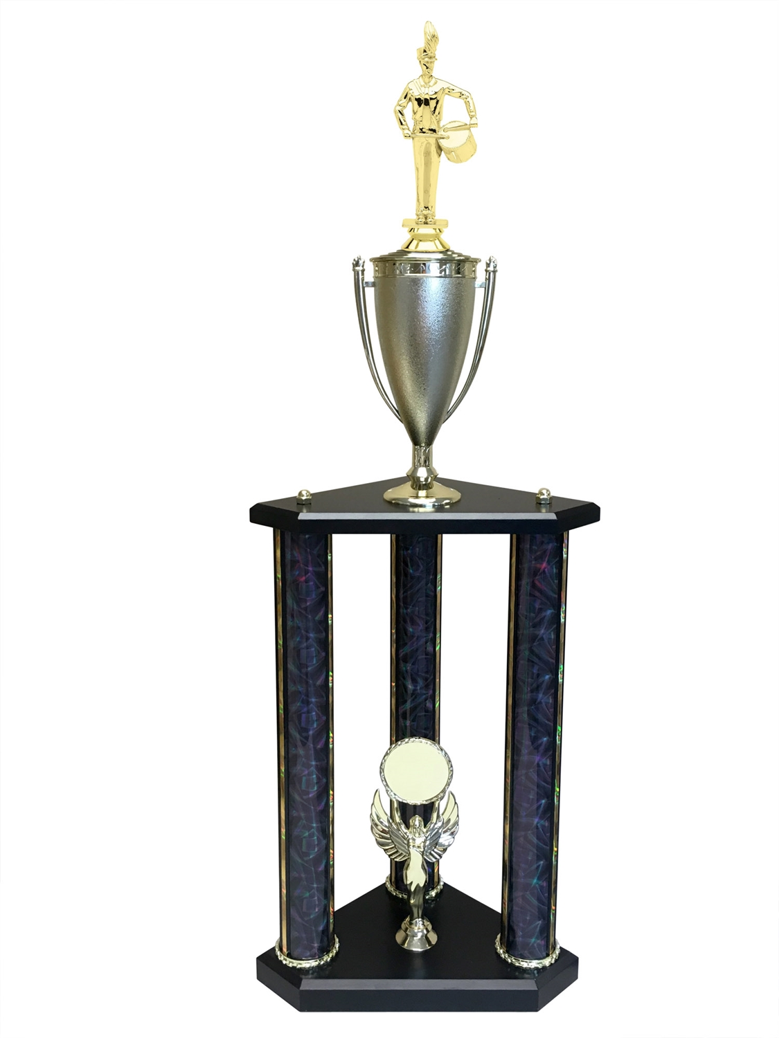 Band Drummer Trophy Available in 11 colors & 3 sizes
