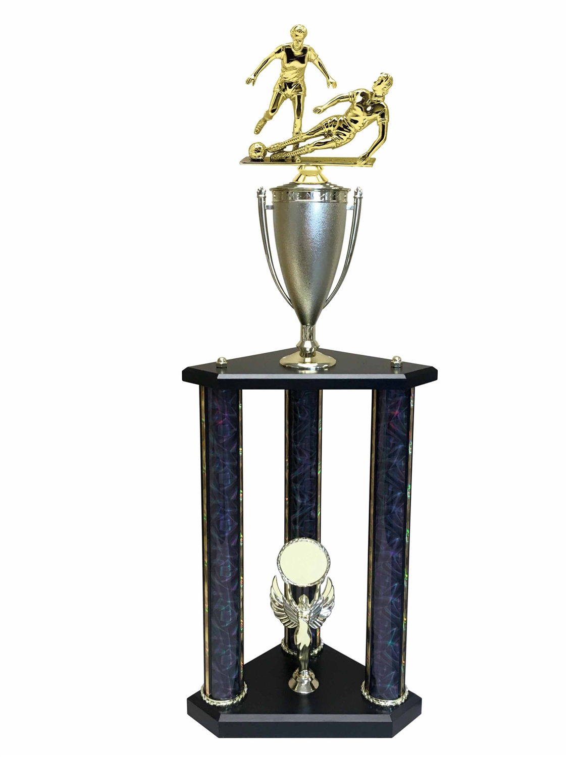 Female Soccer Trophy Available in 11 colors & 3 sizes