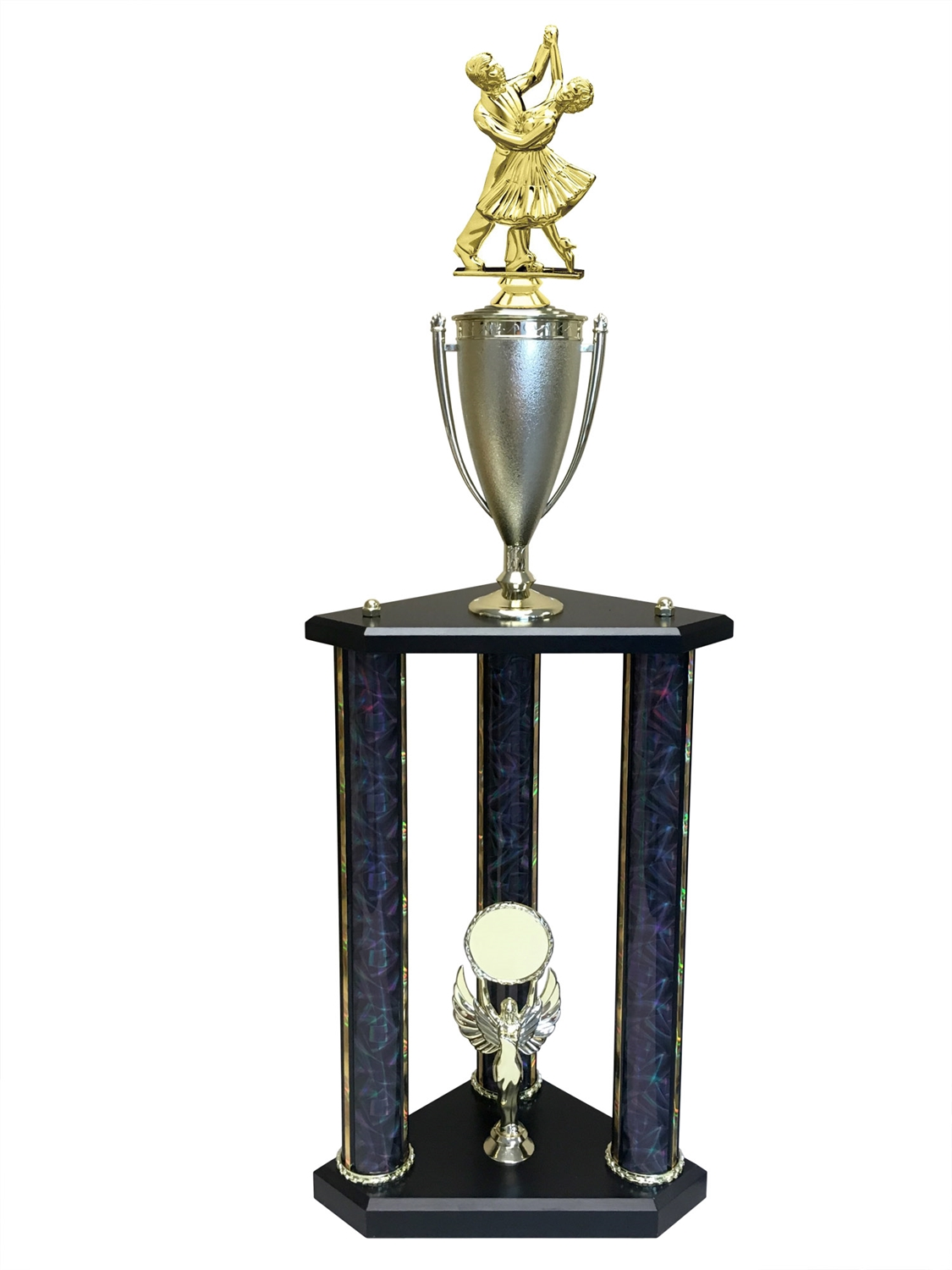 Dancing Couple Trophy Available in 11 colors & 3 sizes