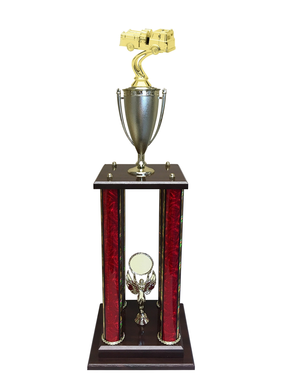 Firetruck Trophy Available in 11 colors & 3 sizes