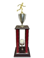 Female Cross Country Trophy Available in 11 colors & 3 sizes