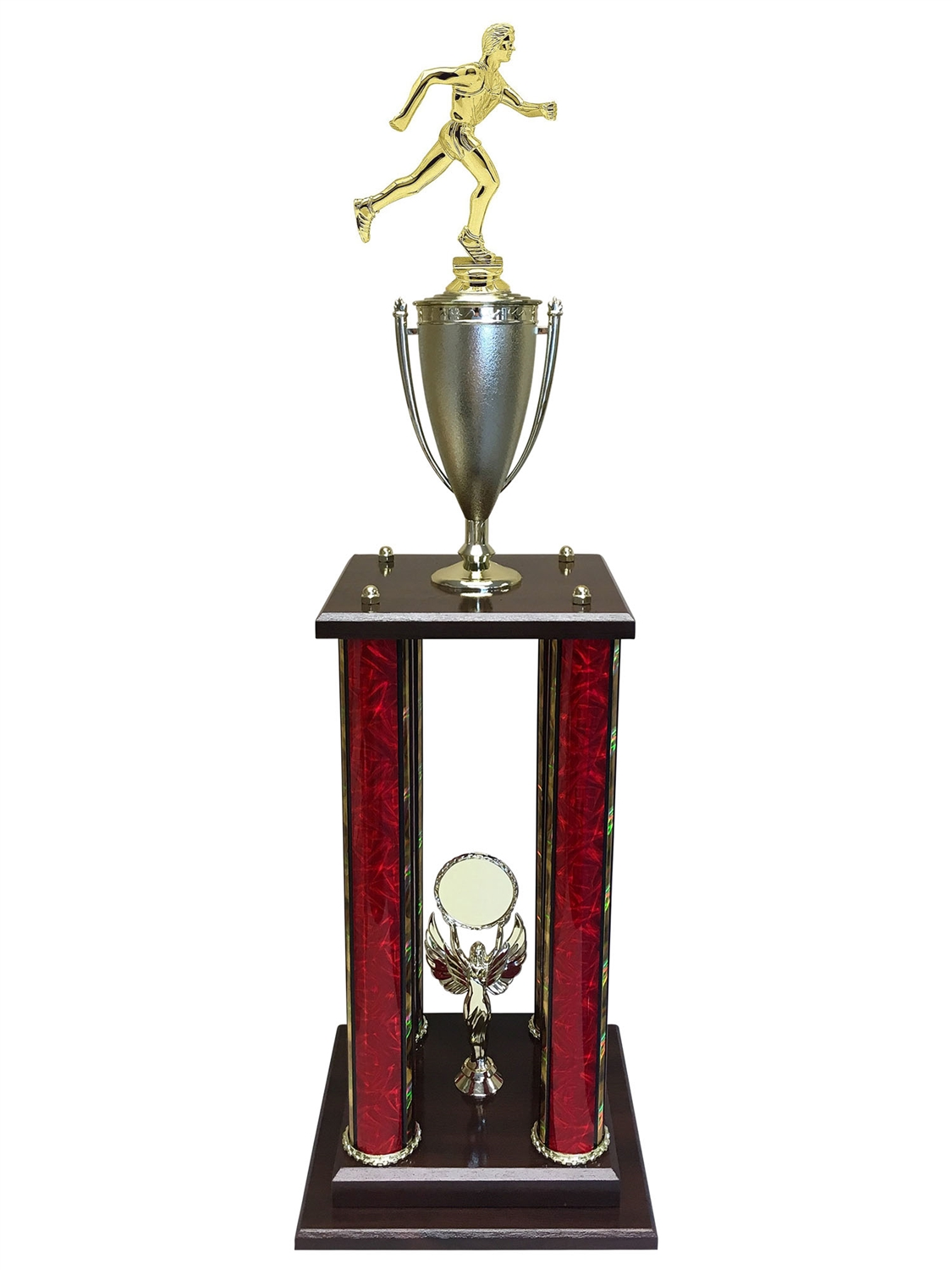 Male Cross Country Trophy Available in 11 colors & 3 sizes