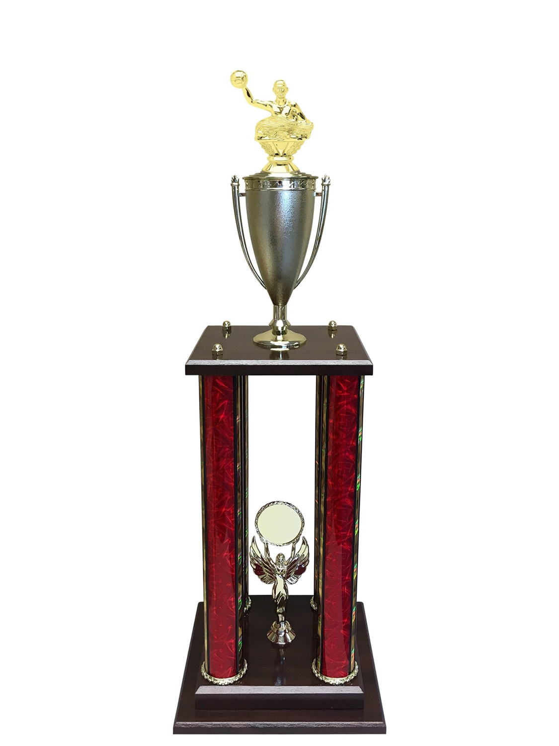 4 Post Waterpolo Trophy in 11 colors & 3 sizes