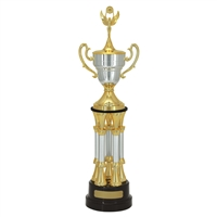 Small 5 Post Champion Trophy Cup