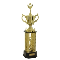 Medium 4 Post Champion Trophy Cup
