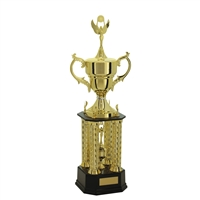 Small 4 Post Champion Trophy Cup