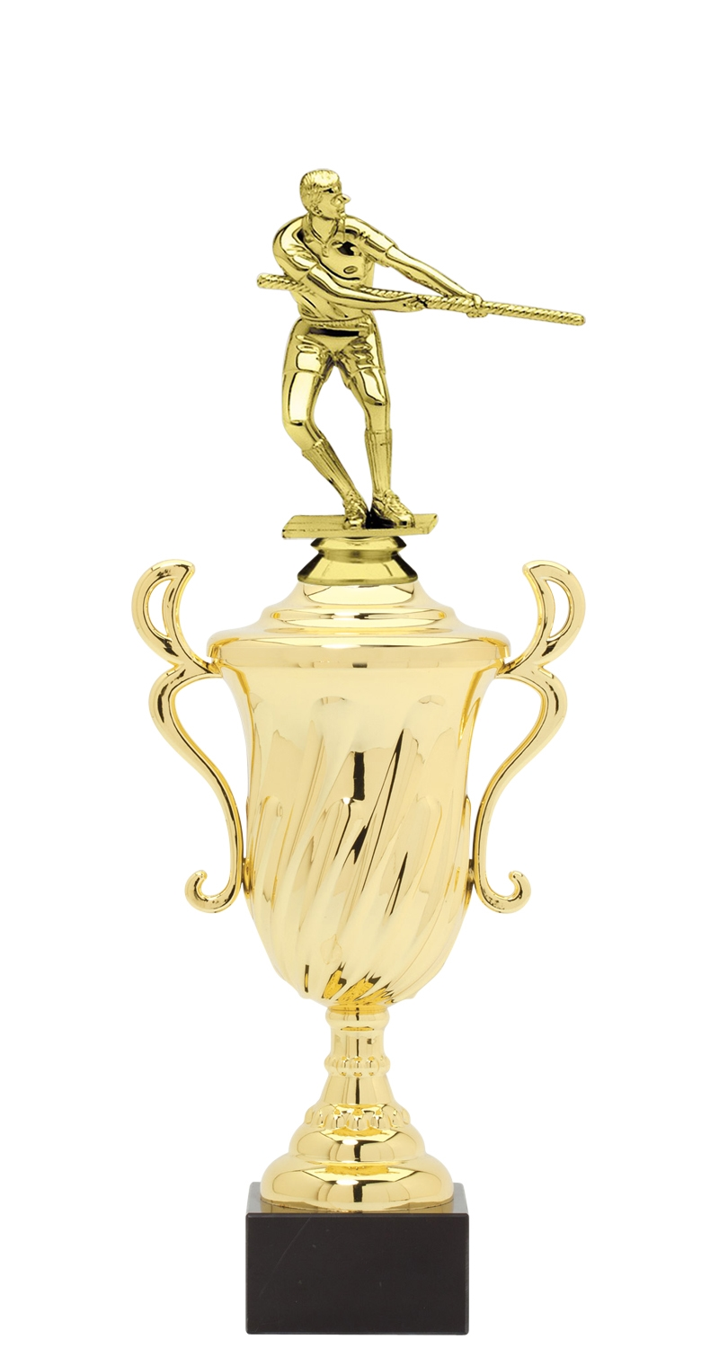 Tug of War Trophy Cup on synthetic base in (3 - Sizes)