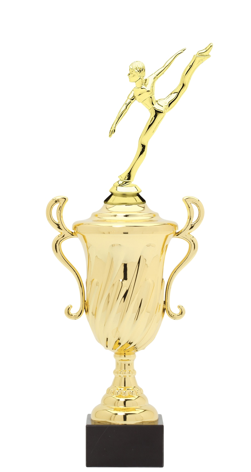 Dance Trophy Cup on synthetic base in (3 - Sizes)