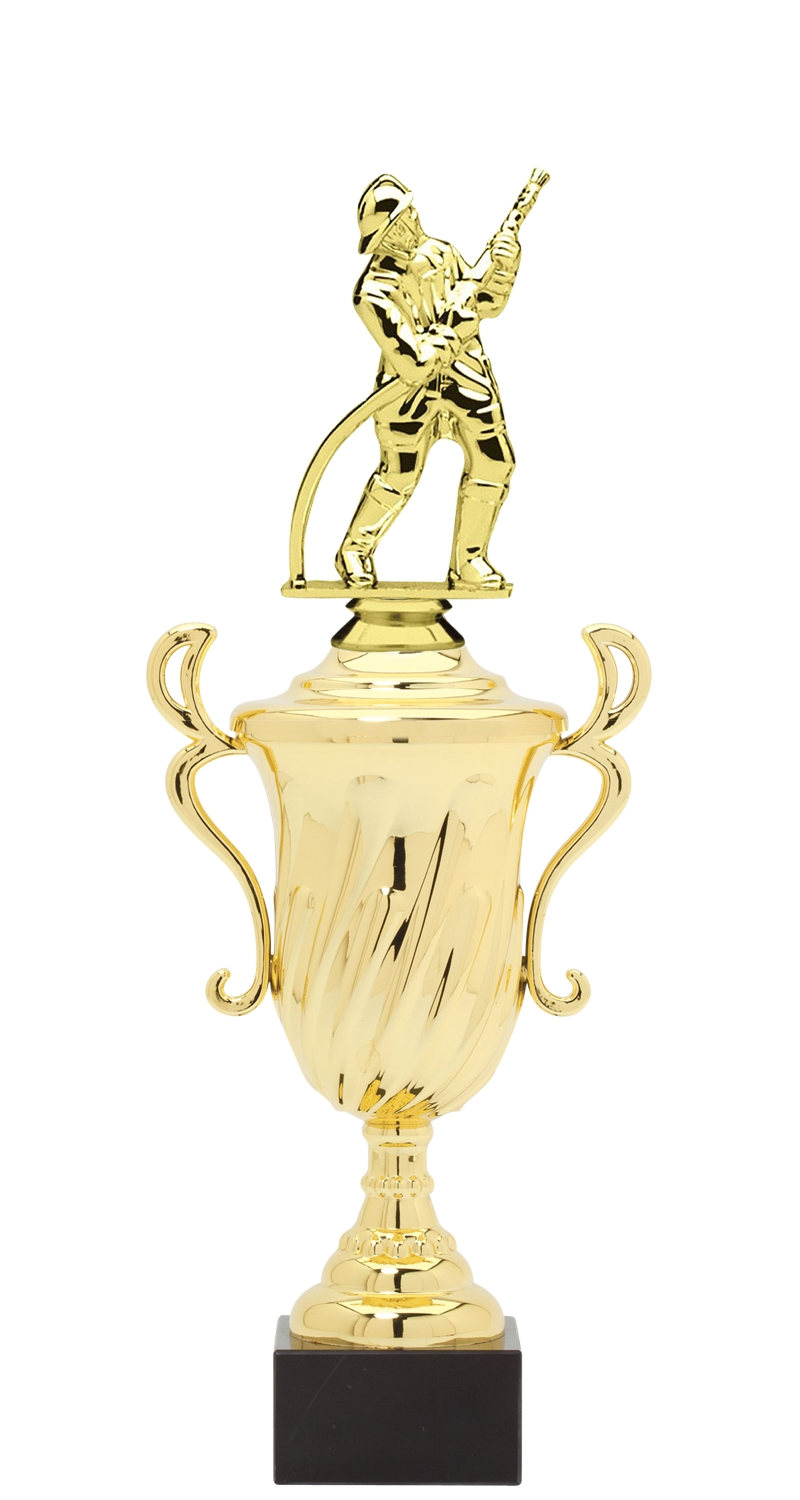 Firefighter Trophy Cup on synthetic base in (3 - Sizes)