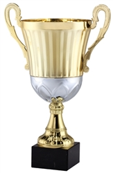 "17"" Gold Metal Trophy Cup"