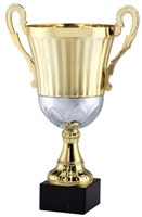 "14"" Gold Metal Trophy Cup"