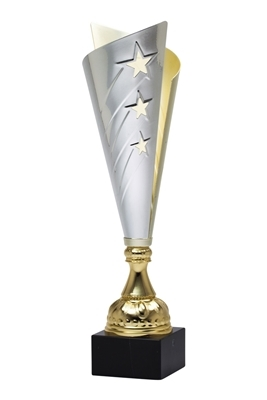 "15"" Gold - Silver Trophy Cup"