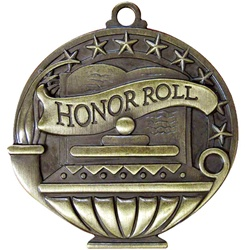 "2"" APM Academic Honor Roll Medal APM735"