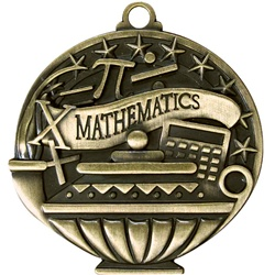 "2"" APM Academic Mathematics Medal APM746"