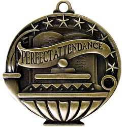 "2"" APM Academic Perfect Attendance Medal APM761"