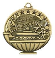 "2"" APM Academic Science Fair Medal APM775"