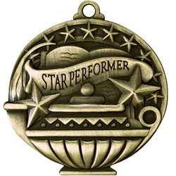 "2"" APM Academic Star Performer Medal APM784"