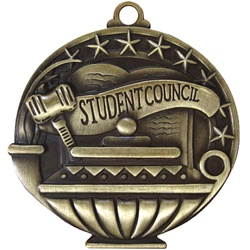 "2"" APM Academic Student Council Medal APM790"