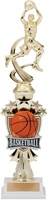"14"" All Star Riser Male Basketball Trophy"