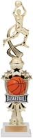 "14"" All Star Riser Female Basketball Trophy"