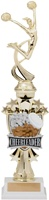 "14"" All Star Riser Cheerleader Trophy"