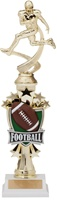 "14"" All Star Riser Football Trophy"