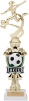 "14"" All Star Riser Female Soccer Trophy"