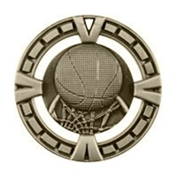 "2-1/2"" BG Series Basketball Medal BG403"