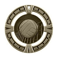 "2-1/2"" BG Series Volleyball Medal BG417"