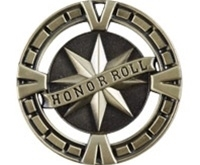 "2-1/2"" BG Series Honor Roll Medal BG465"