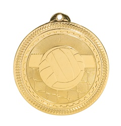 "2"" BriteLazer Series Volleyball Medal BL220"
