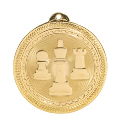 "2"" BriteLazer Series Chess Medal BL304"