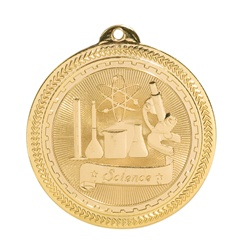 "2"" BriteLazer Series Science Medal BL317"