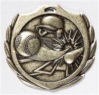 "2-1/4"" BM Series Baseball Medal BMD02"