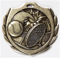 "2-1/4"" BM Series Tennis Medal BMD15"