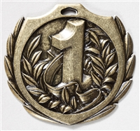 "2-1/4"" BM Series 1st Place Medal BMD21"