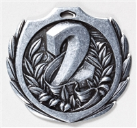 "2-1/4"" BM Series 2nd Place Medal BMD22"