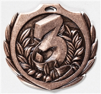 "2-1/4"" BM Series 3rd Place Medal BMD23"