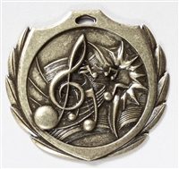 "2-1/4"" BM Series Music Medal BMD24"