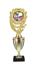 "12"" Cup Column Wreath Full Color Cooking Trophy"