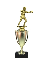 Cup Column Boxing Trophy