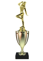 Cup Column Tap Dance Trophy
