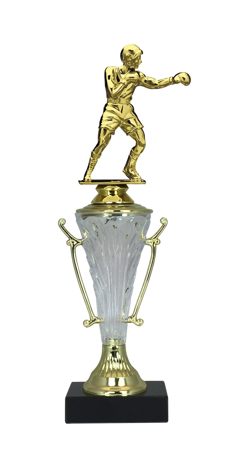 Boxing Trophy Cup on Marble Base in (2 - Sizes)