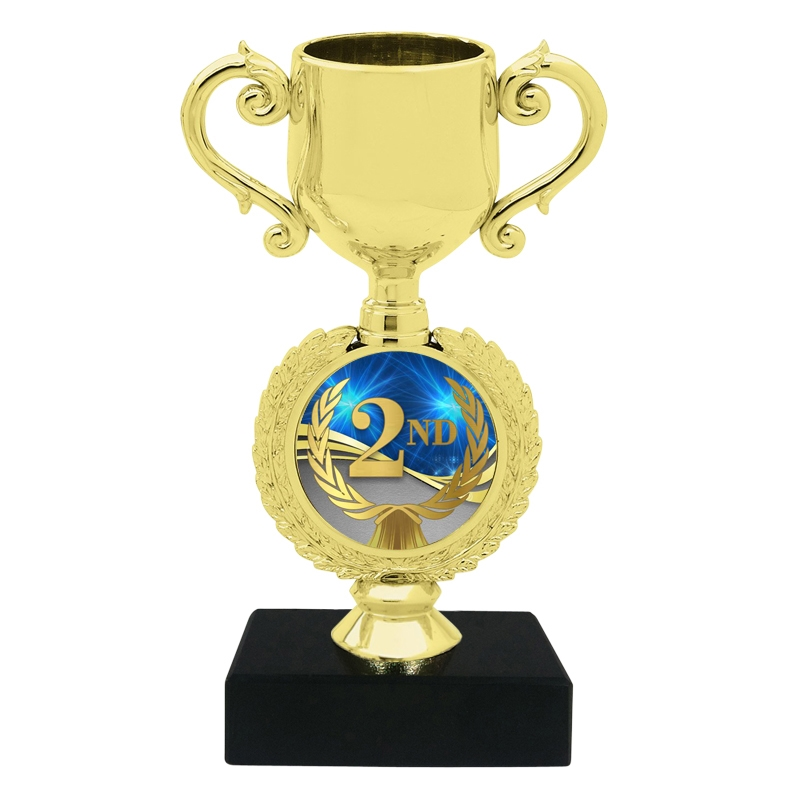 Small 2nd Place Trophy Cup