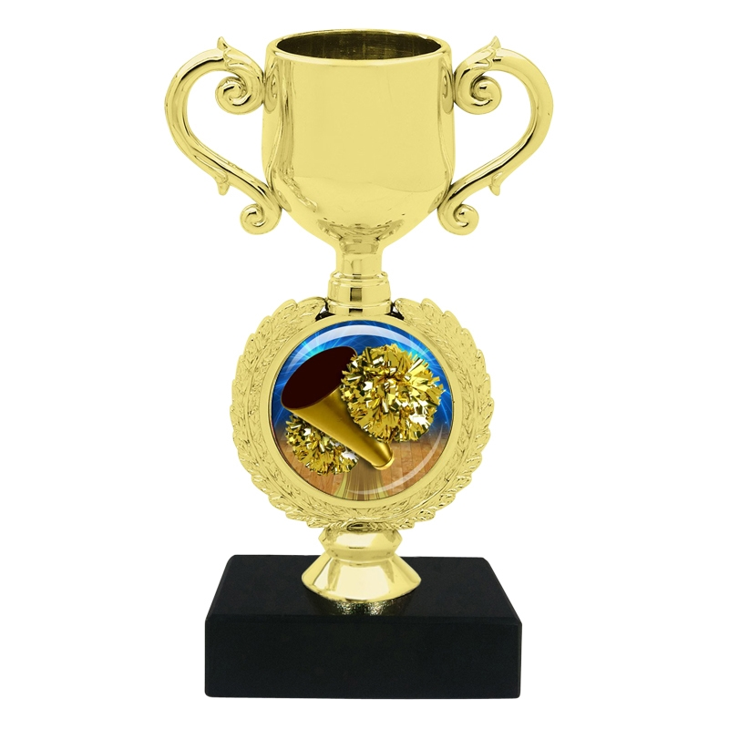 Small Cheerleading Trophy Cup