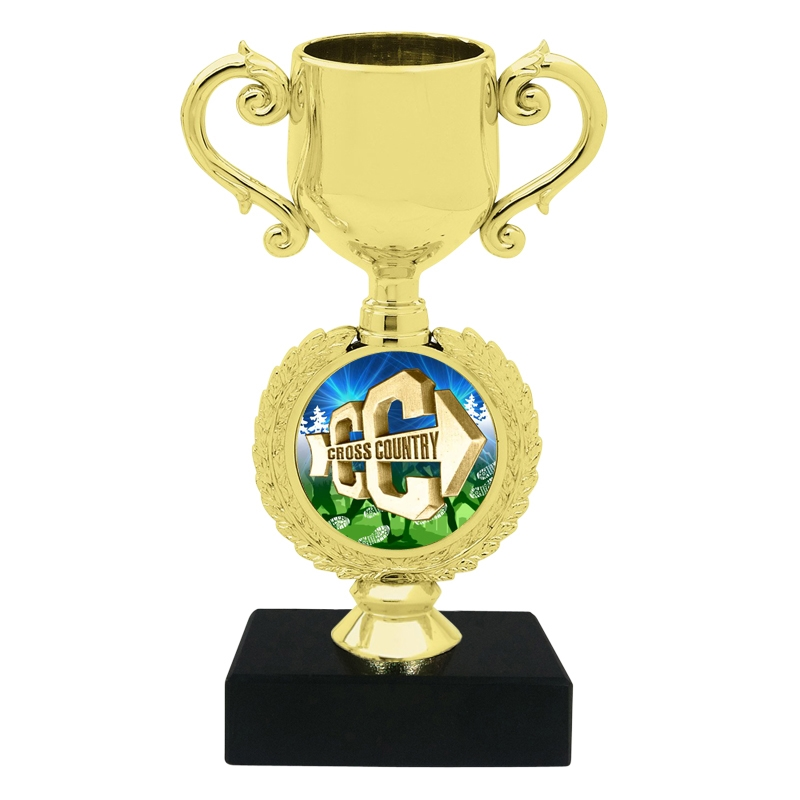 Small Cross Country Trophy Cup